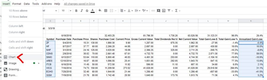 how-to-make-a-stock-portfolio-in-excel-make-chart