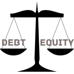 debt equity financing scale